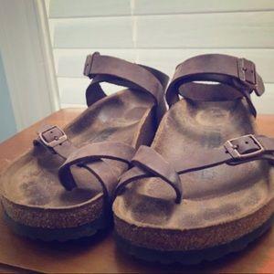 Used  Birkenstock waxy leather